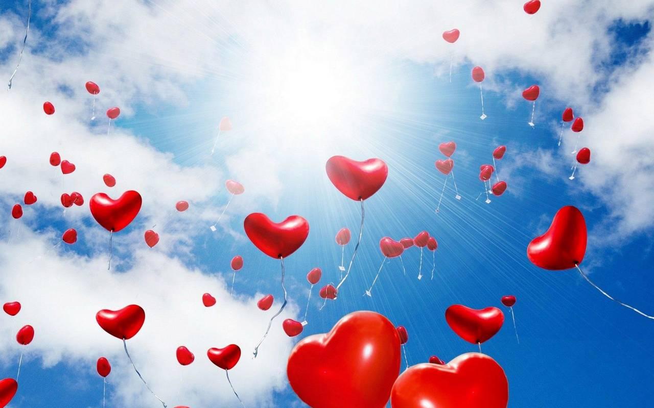 serca, niebo