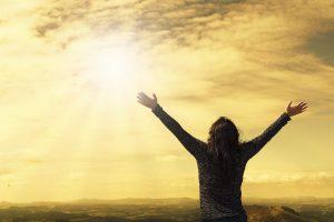 szczęście, radość, modlitwa, dziękczynienie