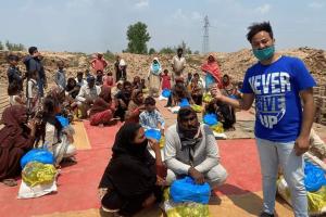 Pakistan, cegielnia, pomoc